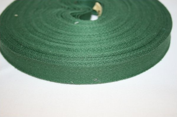 3/4 inch Twill Tape  Forest Green