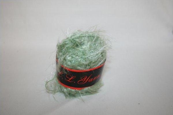 Eyelash Yarn Sea Foam Green