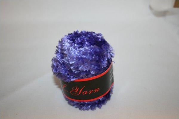 Tufted Yarn Purple