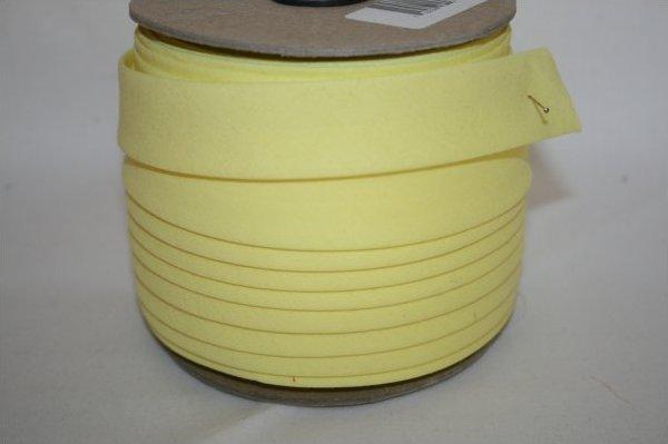 3/4 inch Bias Pastel Yellow
