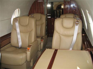 Hawker 400 XP Interior
