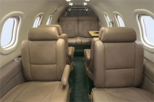 Lear Jet 35A Interior