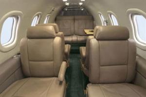 Lear Jet 35A Interior