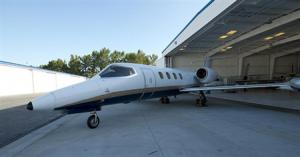 Lear Jet 35A Exterior