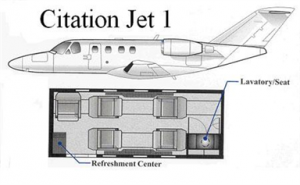 Citation Jet I Blueprint