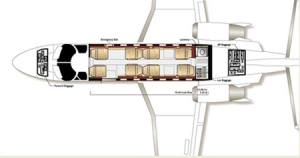 Citation V Floor Plan