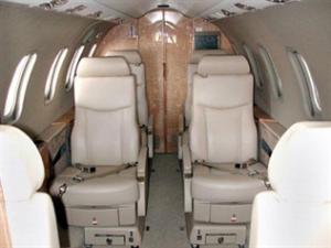 Lear Jet 40 Interior
