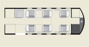 Citation III Floor Plan