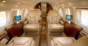 Hawker 700 Interior
