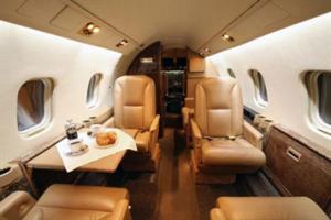Lear Jet 55 Interior