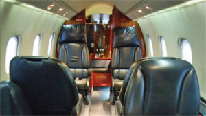 Lear Jet 60 Interior