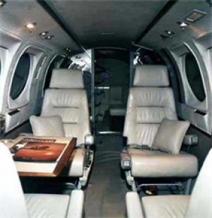 King Air 90 Interior