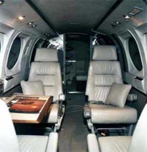 King Air 90 Interior