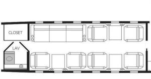 Challenger 601 Floor Plan
