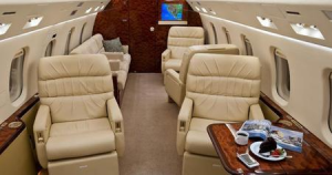 Challenger 604 Interior