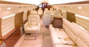 Gulfstream II Interior