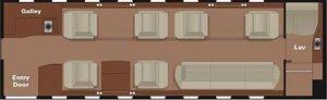 Gulfstream G200 Foor Plan