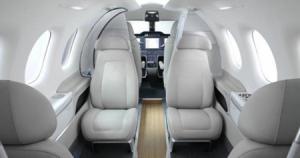 Embraer Pheonom 100 Interior