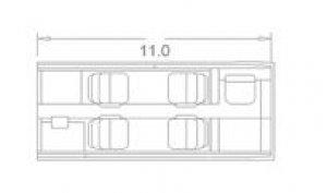 Embraer Phenom 100 Floor Plan