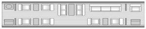 Legacy 600 Floor Plan