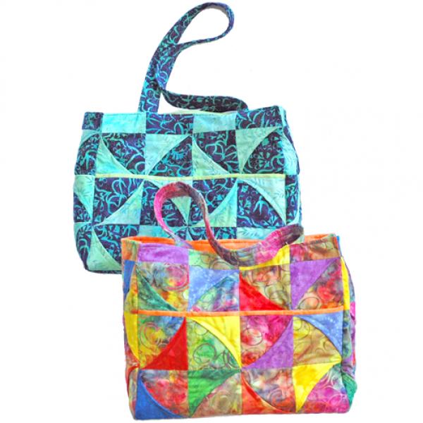 Curvy Pinwheel Bag