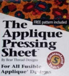 The Applique Pressing Sheet(TM)