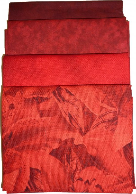 Fabric Pack: Red