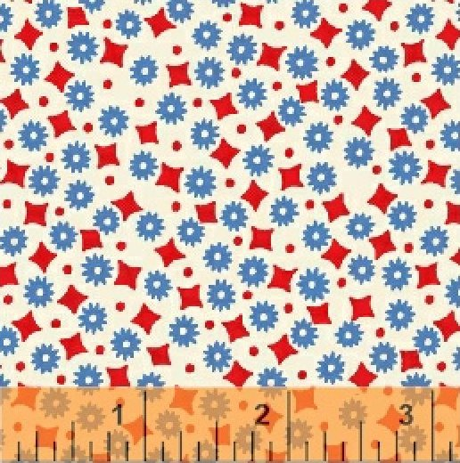 Once Upon a Storybook Red & Blue Dots