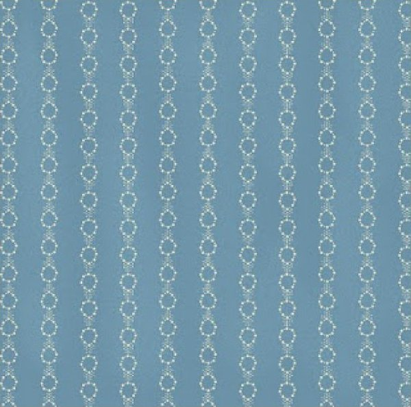 Alice's Washday Blues by Blue Hill Light Blue Chain