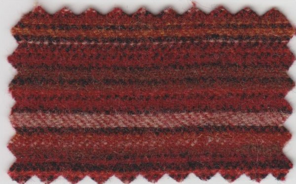 Candy Apple Red Stripe (18 X 21)  Wool
