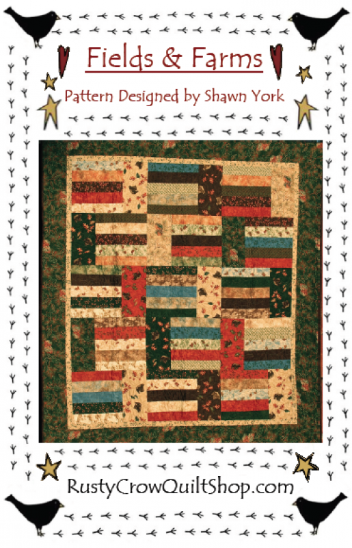 Fields & Farms Quilt Pattern by Rusty Crow Quilts