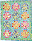 Melon Blossoms / McCall's Quilting March/April 2012 / Photo Courtesy of McCall's Quilting