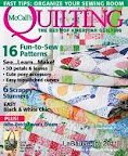 Melon Blossoms Cover / McCall's Quilting March/April 2012 / Photo Courtesy of McCall's Quilting