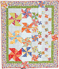 Tyla' Twirl (quilt) / McCall's Quick Quilts, August/September 2011 / Photo courtesy of McCall's Quick Quilts