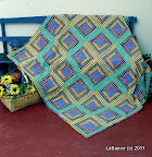 Quick and Cozy Cabin /  Patchwork Quilting, #21 2005 / Photo courtesy of Quilt Magazine