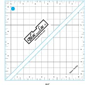 Bloc- Loc 6.5 Half Square triangle square up ruler