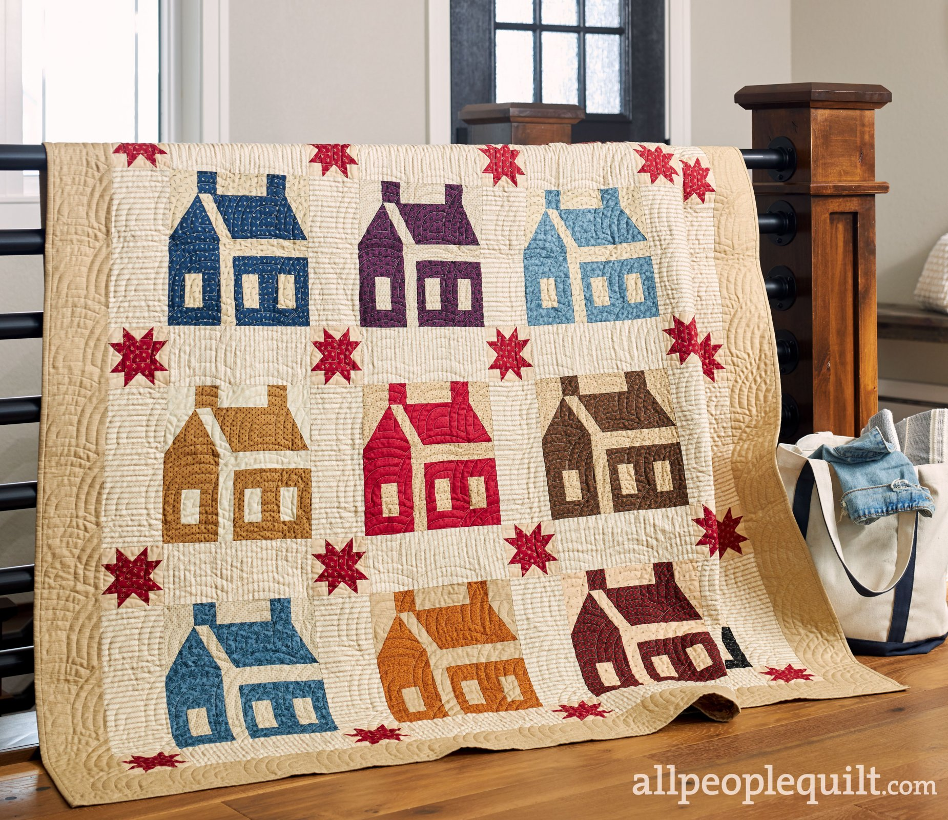 Schoolhouse Quilt Kit