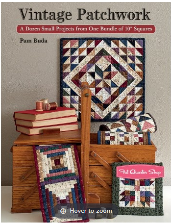 Vintage Patchwork by Pam Buda
