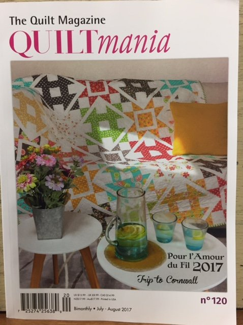 Quiltmania #120 July August 2017