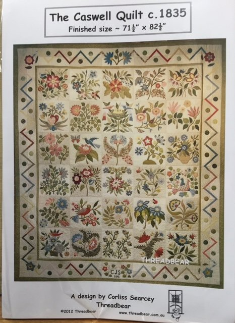 The Caswell Quilt designed by Corliss Searcey