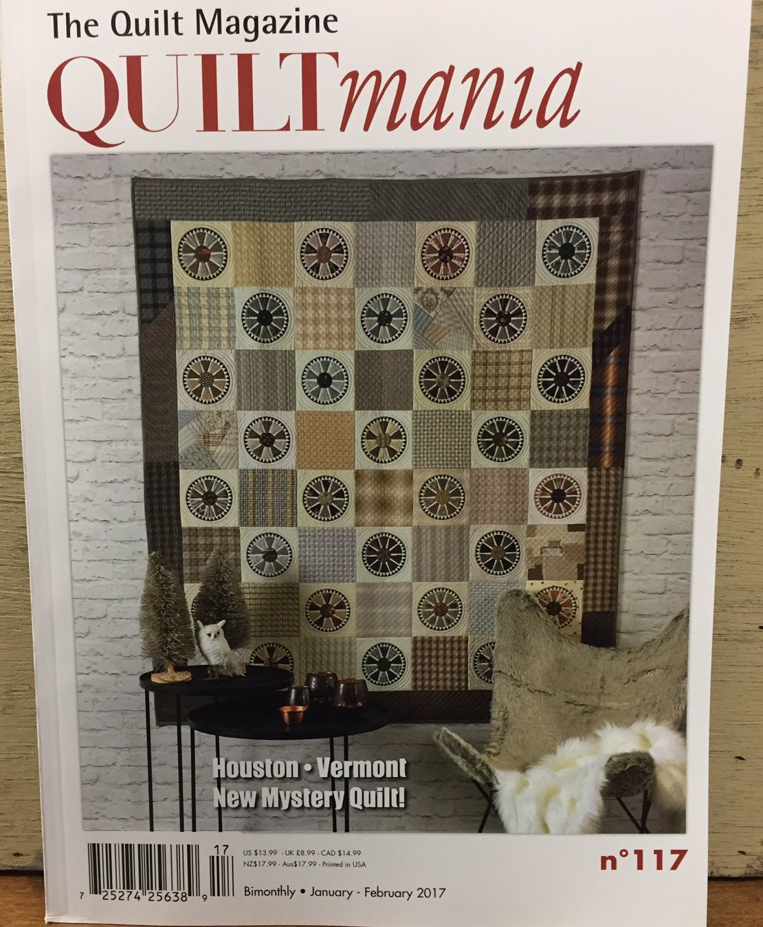 Quiltmania #117 Jan/Feb 2017