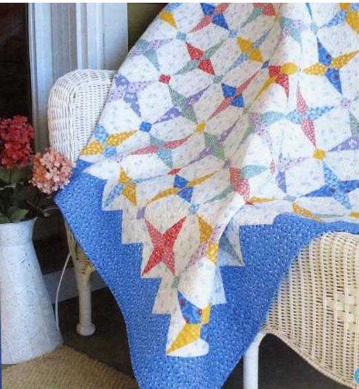 Hummingbird quilt pattern