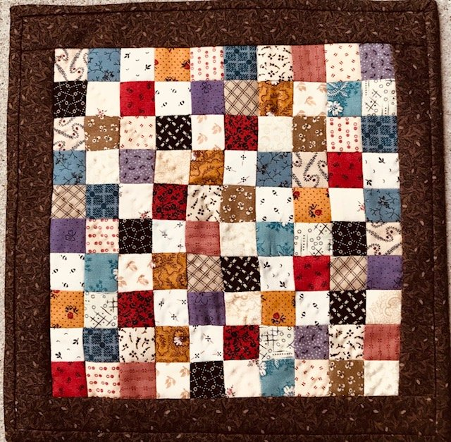 Mini Checkerboard Quilt Kit
