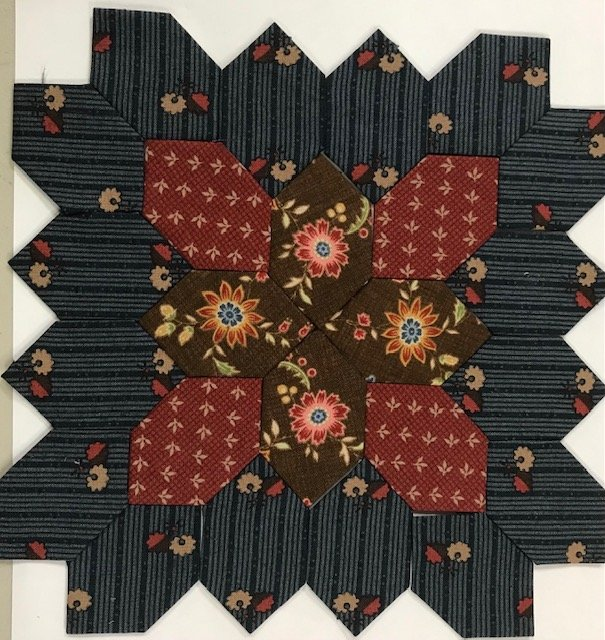 Lucy Boston - Patchwork of The Crosses # 143