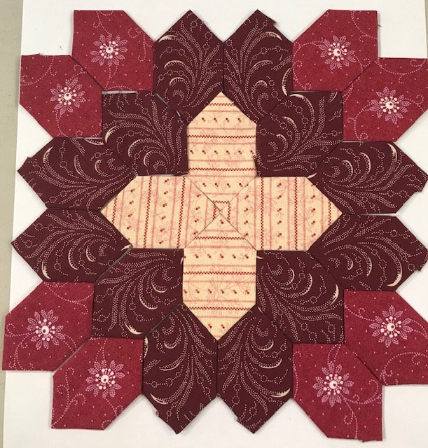 Lucy Boston - Patchwork of The Crosses # 144