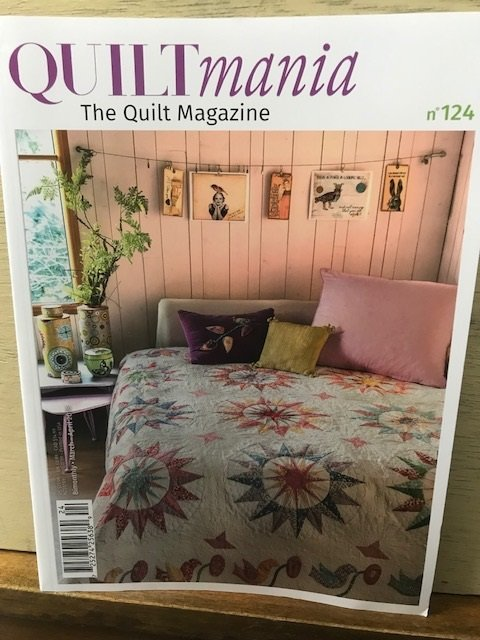 Quiltmania #124 March - April 2018