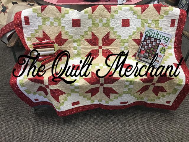 Winter Wreaths quilt kit