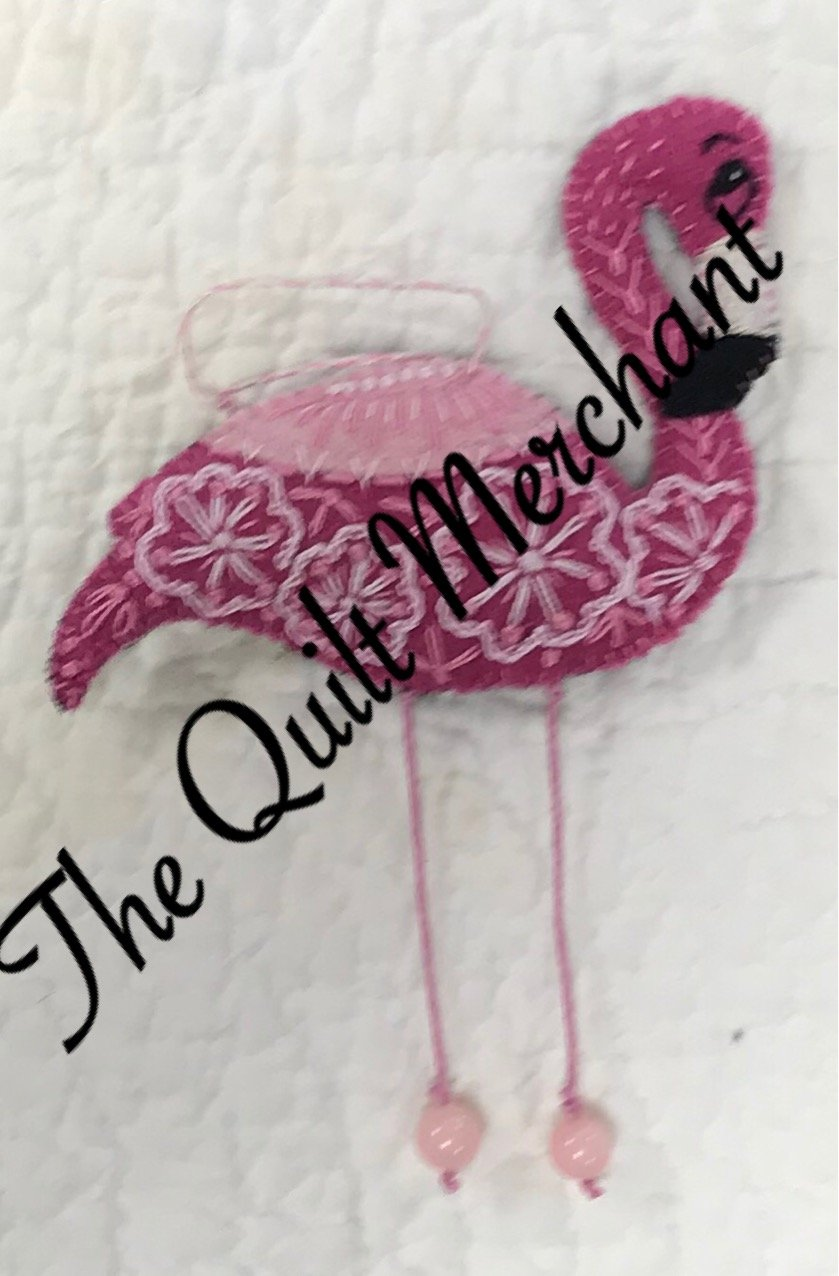 Flamingo Wool Ornament