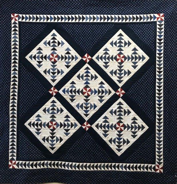 The Blue Dipper kit (Pattern Separate under The Quilt Merchant patterns)