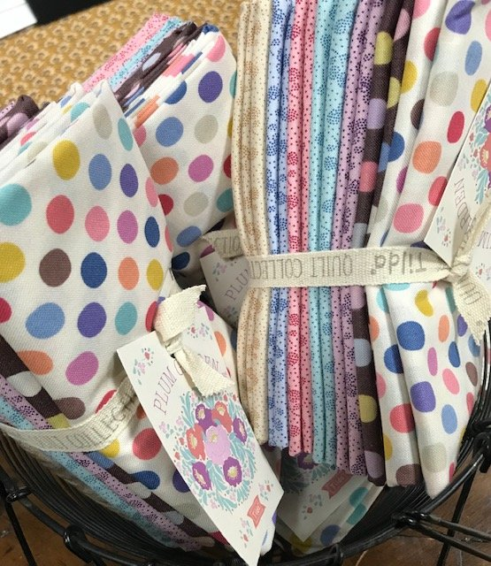 Plum Garden Fat Quarter bundle Tilda fabrics